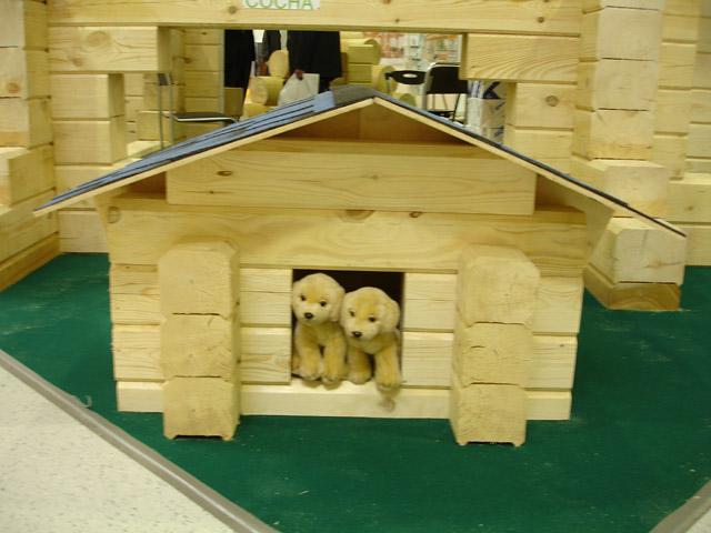 Ландшафт-Дизайн / Деревянное домостроение... / Фото: Чего не сделаешь ради любимых питомцев.