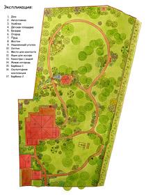 Генеральный план озеленения и благоустройства