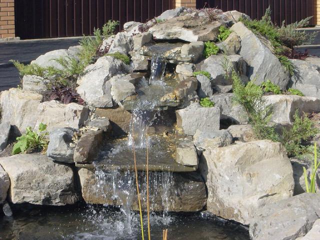 Водопад своими руками пошаговое фото